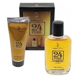 For Men - Edt splash 50ml e shower Gel 100 ml - 24 PURE