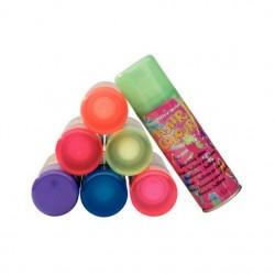 Hair Color Spray Lacca Colorata Da 125 Ml Glitter Metal O Fluo